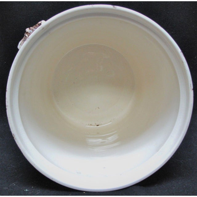T. Furnival & Sons Brown Hazel 8 Quart Sop Pot Jar and Lid For Sale In Miami - Image 6 of 10