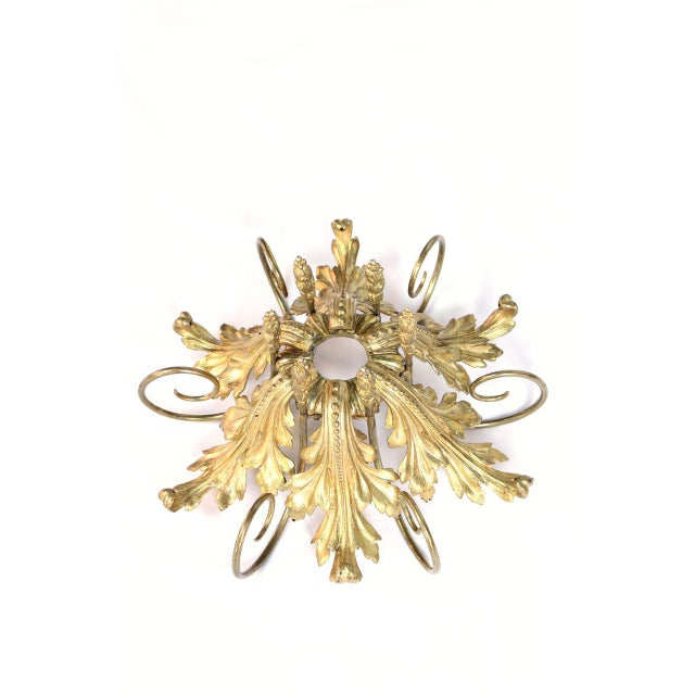 French Gilt Bronze and Crystal 36 Light Chandelier For Sale - Image 9 of 9