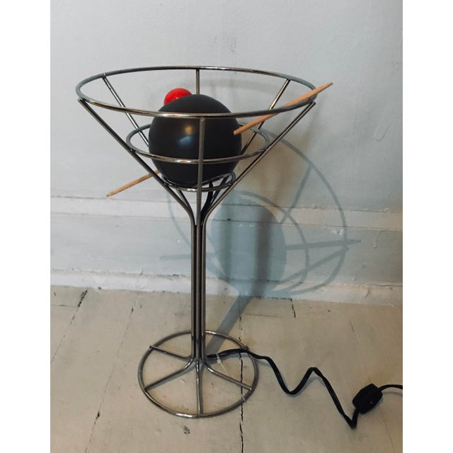 David Krys Original Design Martini Lamp For Sale - Image 5 of 6