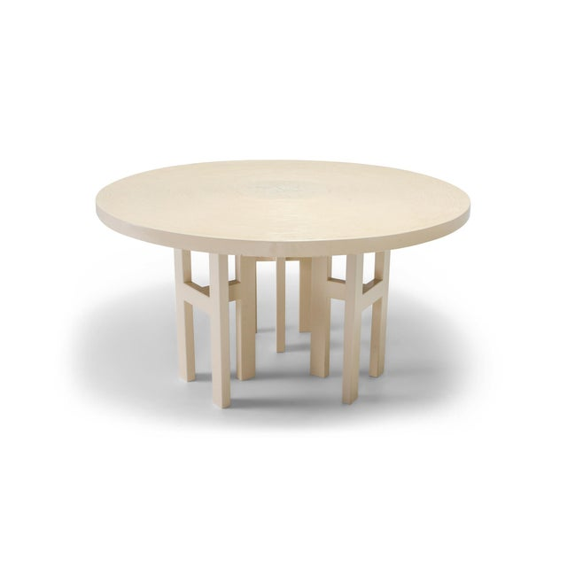 Jean Claude Dresse Exceptional Resin Dining Table For Sale - Image 9 of 9