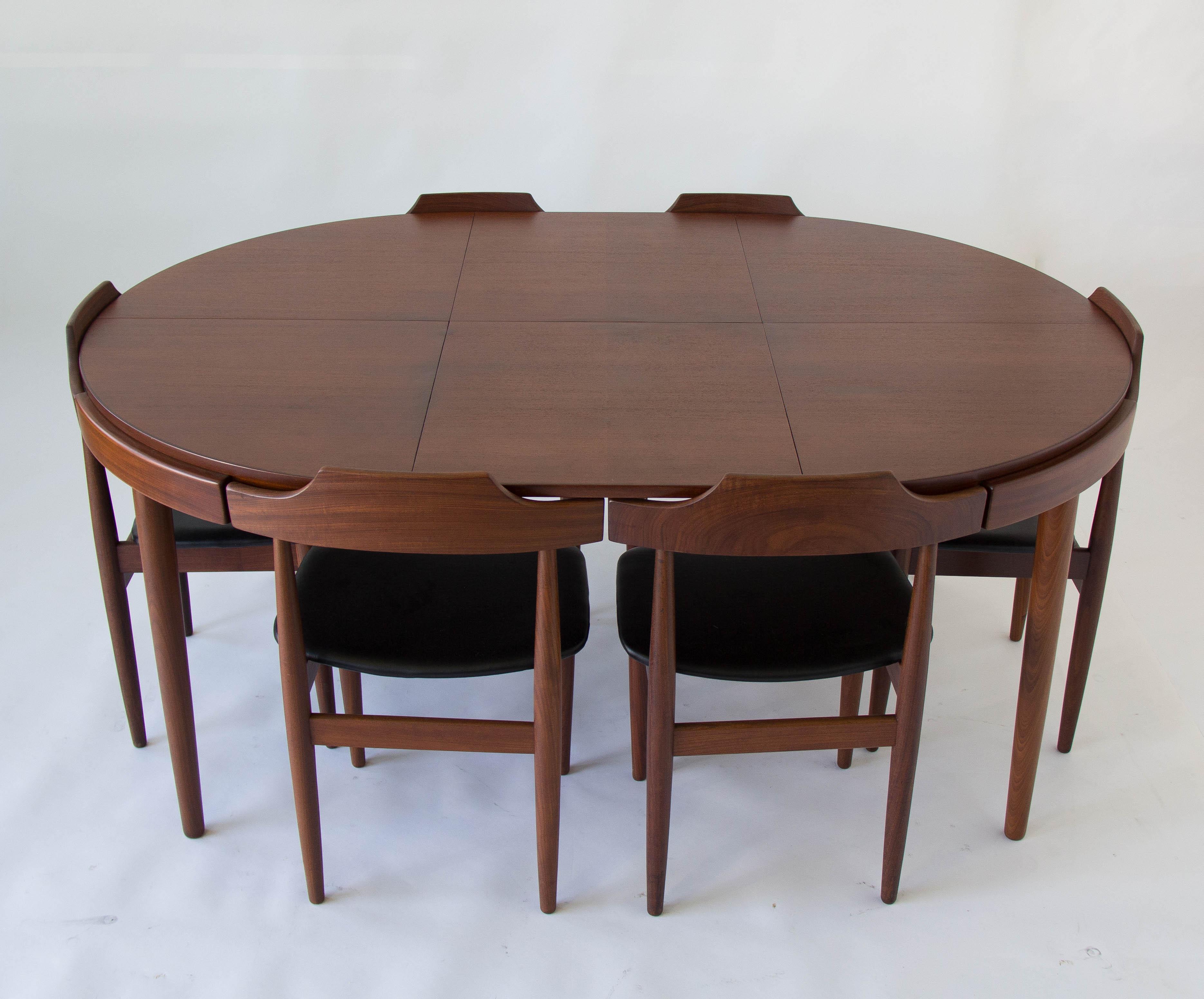 Hans Olsen For Frem Rojle 8 Seat Dining Set   Image 3 Of 11
