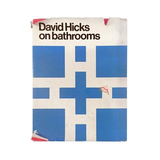 """David Hicks on Bathrooms"" First Edition Design Book For Sale"