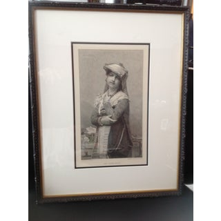 Framed Engraving of the Young Bride Preview