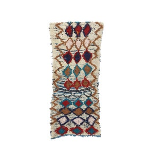 1980s Moroccan Azilal Rug - 2′3″ × 5′1″ For Sale