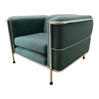 Vintage Le Corbusier Lc2 Style Club Chair For Sale