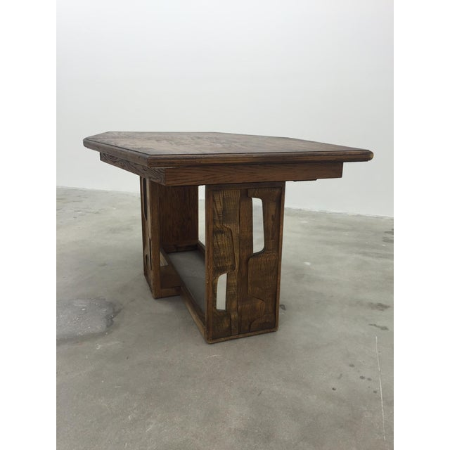 Brutalist Dining Table - Image 3 of 7