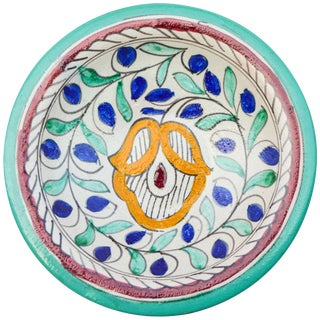 Colorful Moroccan Ceramic Plate For Sale