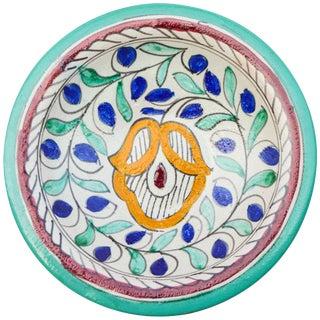 Colorful Moroccan Ceramic Plate For Sale