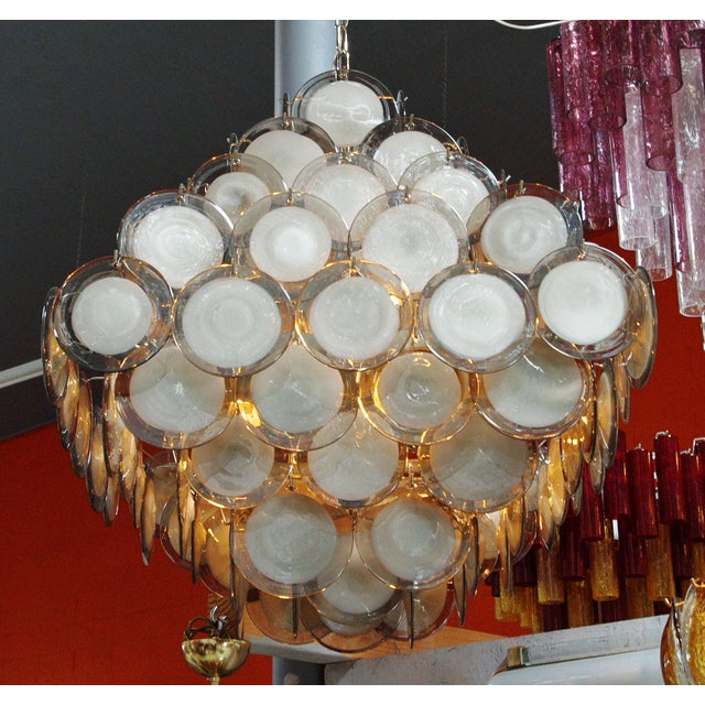 Piramide Chandelier by Fabio Ltd For Sale In Palm Springs - Image 6 of 13
