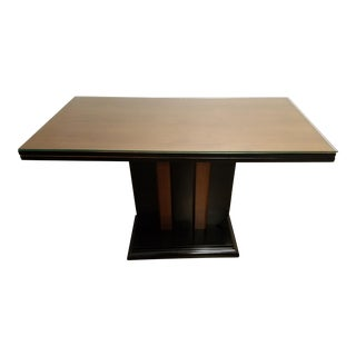 Expandable Art Deco Dining Room Table