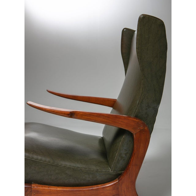 Set of Two Bergères With Footrest For Sale - Image 6 of 11
