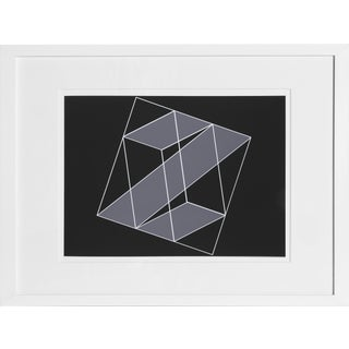 Josef Albers - Portfolio 2, Folder 16, Image 2 Framed Silkscreen For Sale