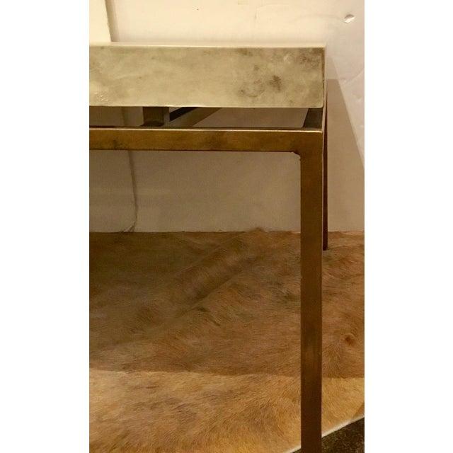 Modern Interlude Home Hampton Brass Coffee Table For Sale In Atlanta - Image 6 of 7