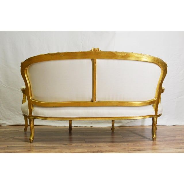 19th Century White and Gold Venetian Sofa - Image 5 of 10