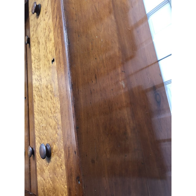 Wood Antique Empire Dresser For Sale - Image 7 of 9