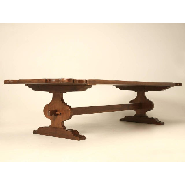 Unique Umbria styled farm table, accurately reproduced in our Old Plank wood working shop from a variety of woods. Choose...
