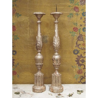 18th Century French Silver-Gilt Candlesticks Preview