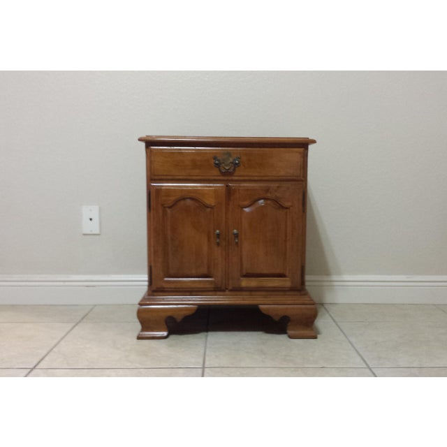 Ethan Allen Traditional Style Nightstand - Image 3 of 9