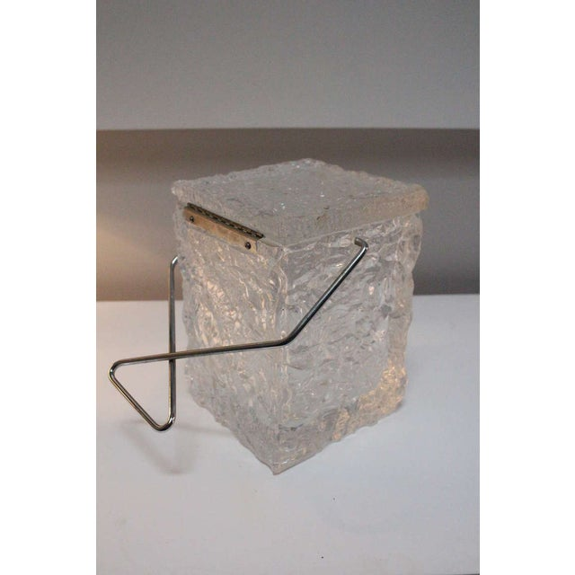 Wilardy Lucite Ice Bucket For Sale - Image 5 of 5