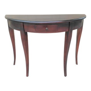 Empire Style Demi-Lune Hall Table For Sale