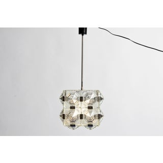 Czech Cast Glass Ceiling Lamp Preview