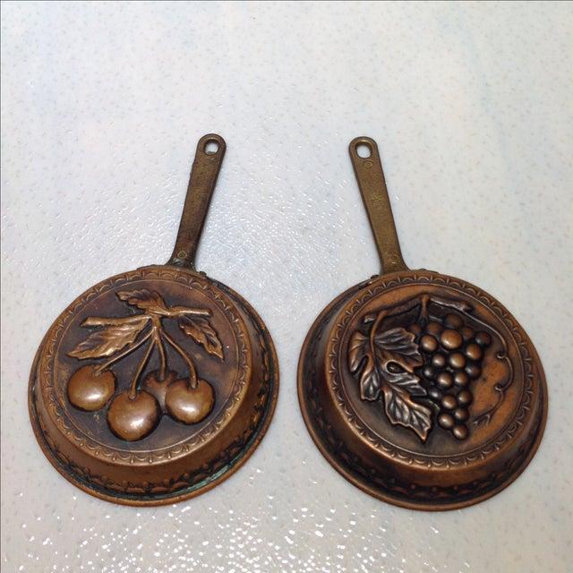 Swedish Copper Dessert Molds - Pair - Image 2 of 6