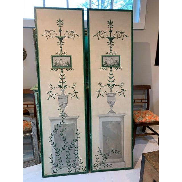 Fine New England artist created these stunning. one-of-a-kind garden panels. They are hand-painted and decoupaged with...