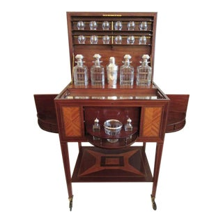 19th C French Art Deco Drinks Cabinet by Maison Boin-Taburet For Sale
