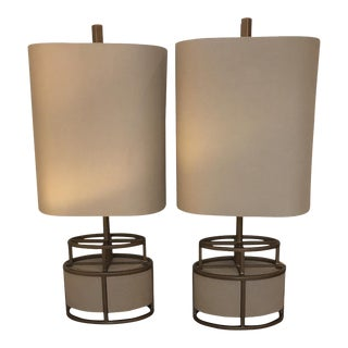 Modern Lamps-A Pair For Sale