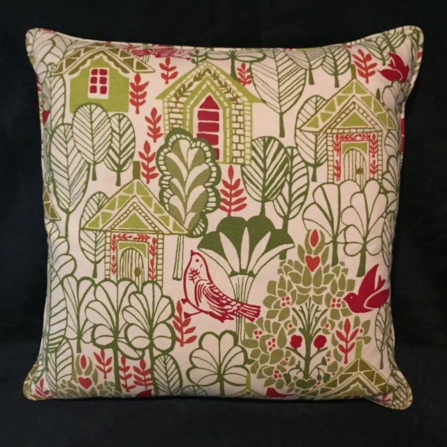 Swedish House Accent Feather Pillows - Image 3 of 6
