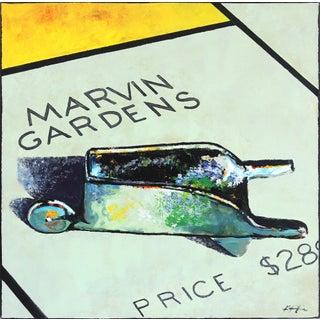"""Marvin Gardens Wheelbarrow"" Original Artwork by Kathleen Keifer For Sale"