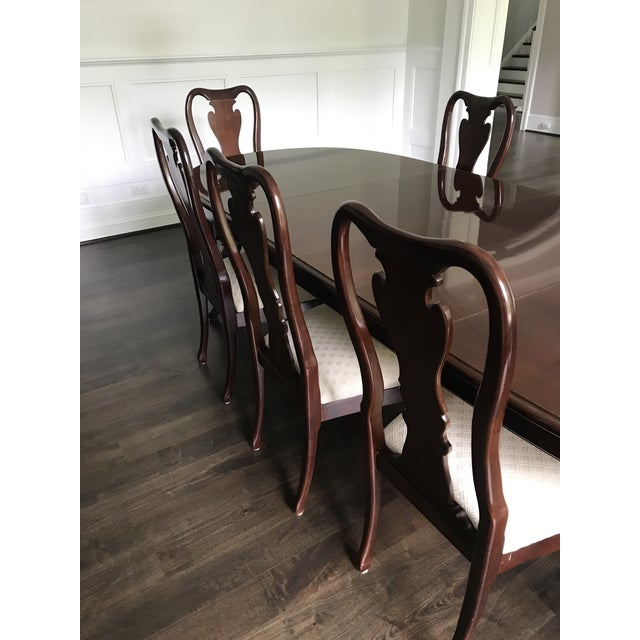 Thomasville Cherry Dining Room Set: Thomasville Collector's Cherry Dining Set