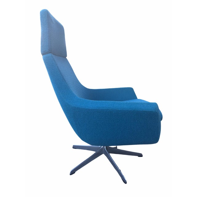 "Modern ""Happy"" Chair by Roger Persson for Mobelfakta For Sale - Image 4 of 6"