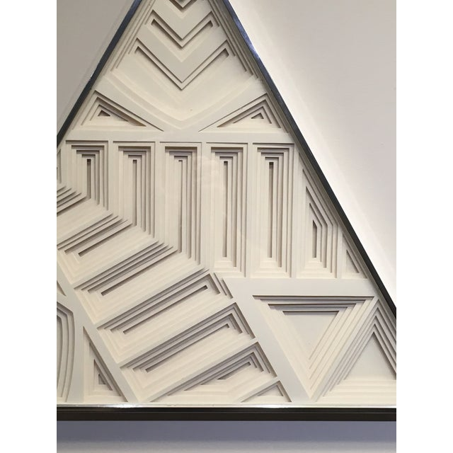 1970s 1970s Vintage Greg Copeland Paper Wall Art Sculptures - a Pair For Sale - Image 5 of 11