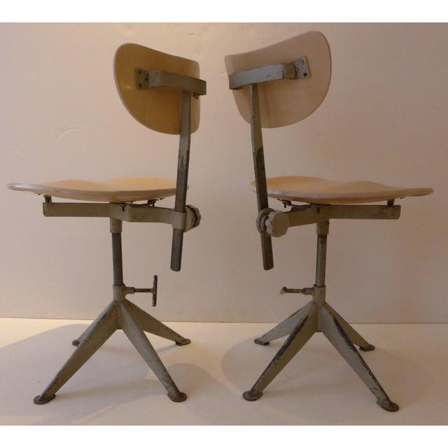 Odelberg Olsen Work Chairs - Image 3 of 11