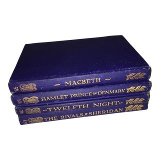 1956 Edition Vintage Shakespeare & Sheridan Plays Books - Set of 4 For Sale