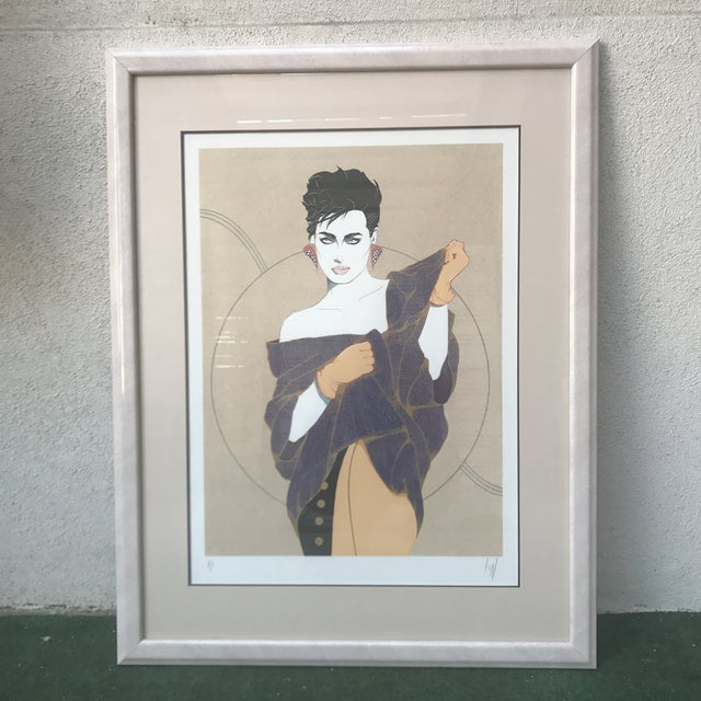 """Denise"" Serigraph by Steve Leal - Image 2 of 8"