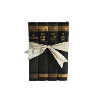 Vintage Decorative Book Gift Set: Green Art Deco Novels