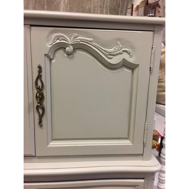 Vintage French Grey Dresser - Image 2 of 6