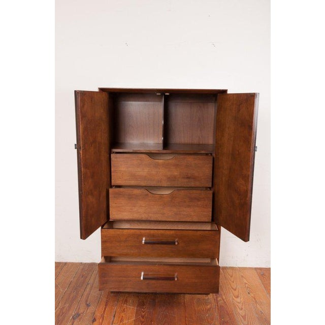 Rosewood Tallboy by Lane of Alta Vista For Sale - Image 5 of 10