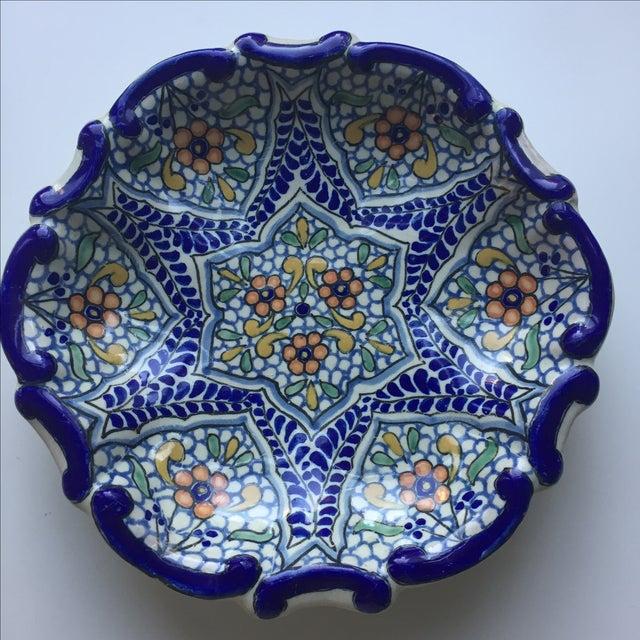 Mexican Uriarte Talavera Dish - Image 3 of 4