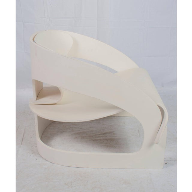 """Mid-Century Modern Original Vintage Joe Colombo """"4801"""" Armchair, Made in Italy by Kartell For Sale - Image 3 of 9"""