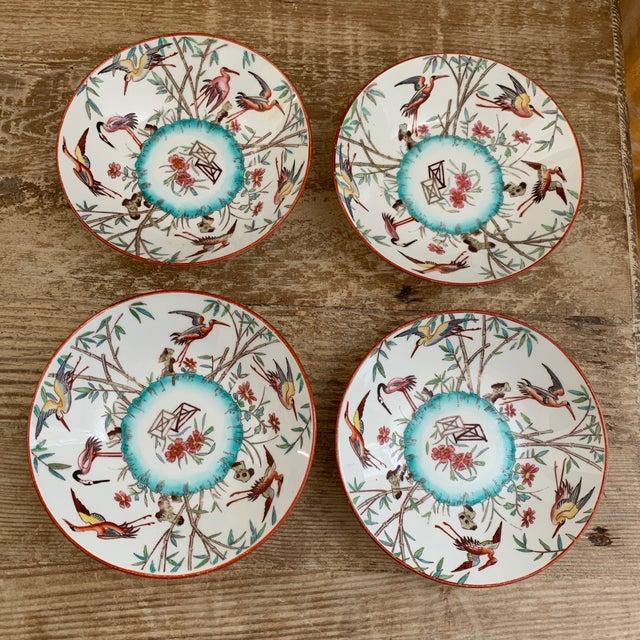 Antique Mintons Porcelain Aesthetic Movement Christopher Dresser Appetizer bowls or trinket dishes- set of 4. Minton...