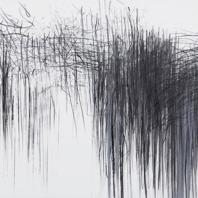 "Abstract Jaanika Peerna ""Storm Series Horizontal 43"" Drawing For Sale - Image 3 of 4"
