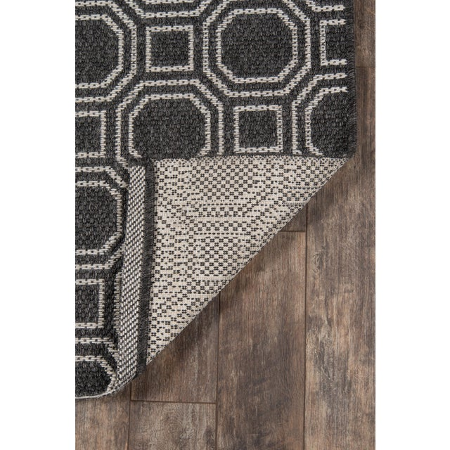 """Erin Gates Downeast Camden Charcoal Machine Made Polypropylene Area Rug 5' X 7'6"""" For Sale In Atlanta - Image 6 of 8"""