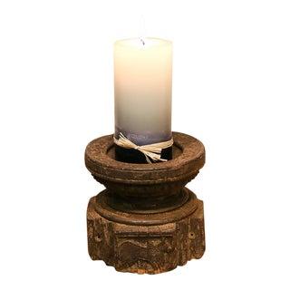 Old Tribal Bijani Candle Holder For Sale