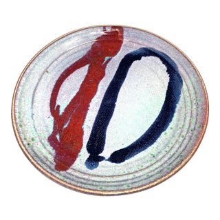 Cliff Losee Pigeon Hill Pottery Studio Art Plate For Sale