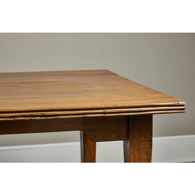 Wood 20th C. Indonesian Teak Farm Table For Sale - Image 7 of 9