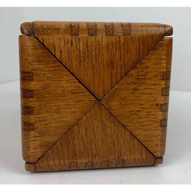 1889 American Puzzle Box For Sale - Image 11 of 12