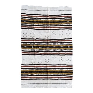 Vintage Fulani From Niger Bed Cover Throw For Sale
